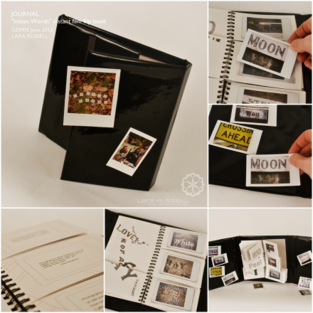 "SELF PUBLICATION: ""Instax Words"""