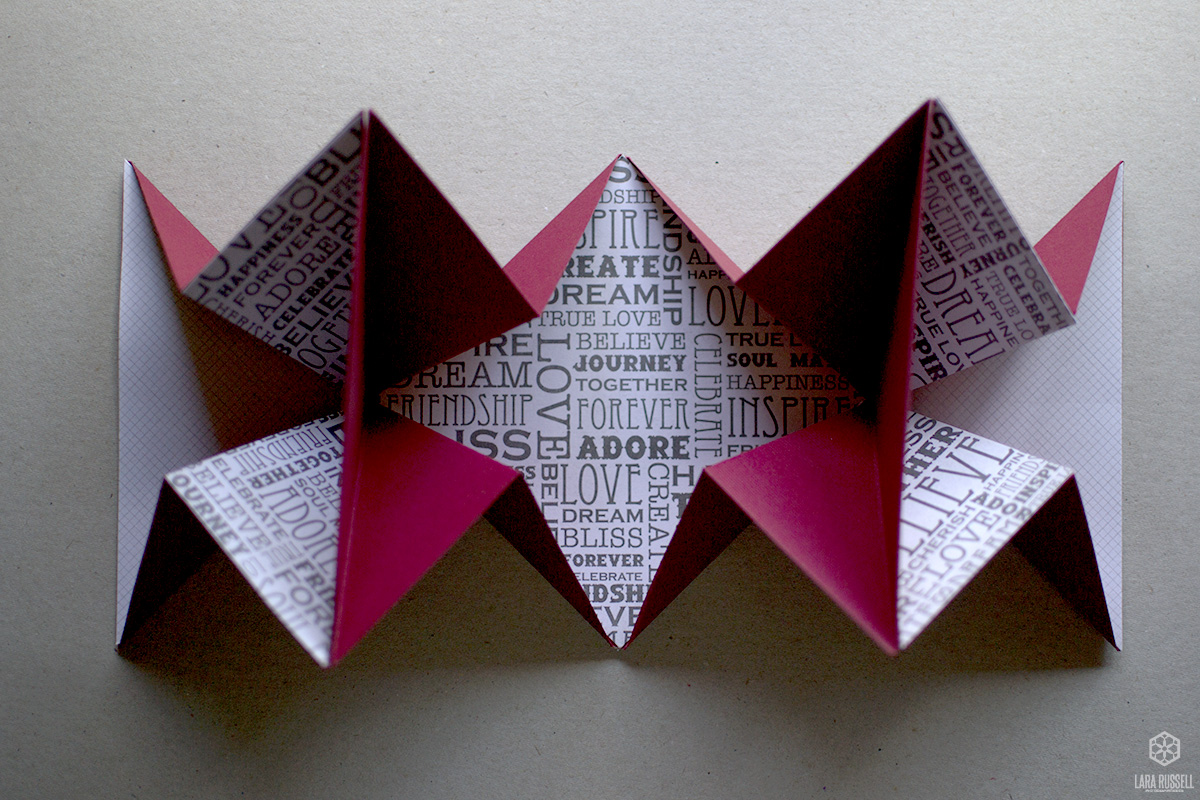 Origami expanding Christmas card | larajrussell - photo#8