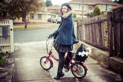 "me on my ""vintage"" bike"