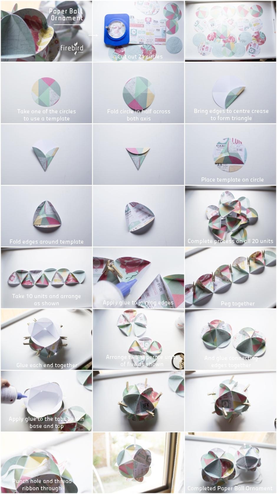 Paper Ball Ornament_blog instructions